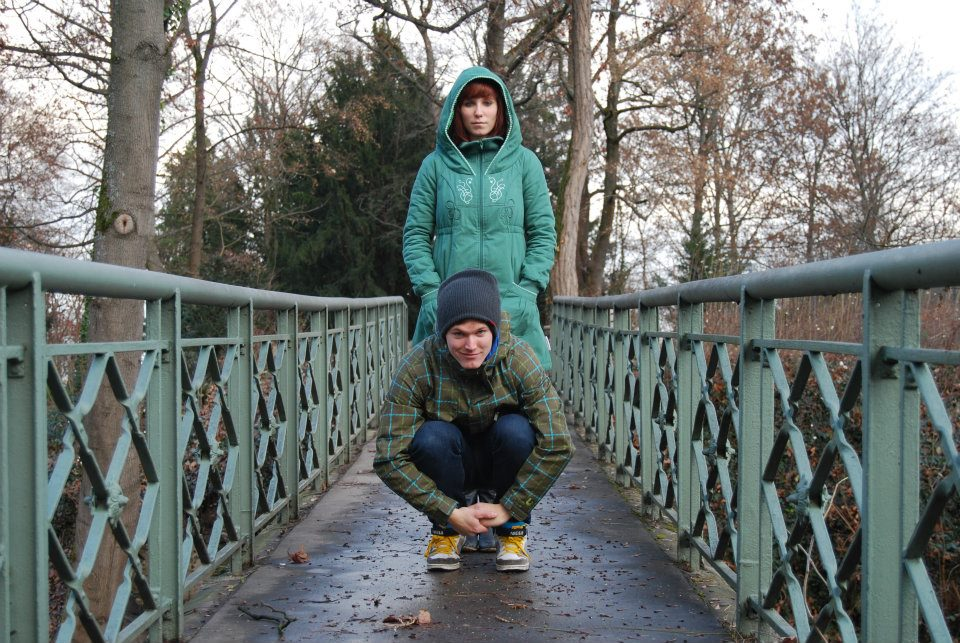 Fahrradgeschwister: Luis und Laura Brethauer