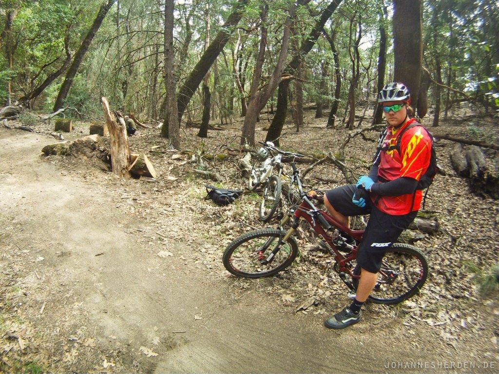 22 Trails fahren mit Kyle Strait: Eine Lehrstunde.