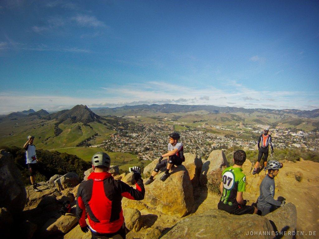 56 Mount Madonna. Unglaubliche Fernsicht und toller Downhill