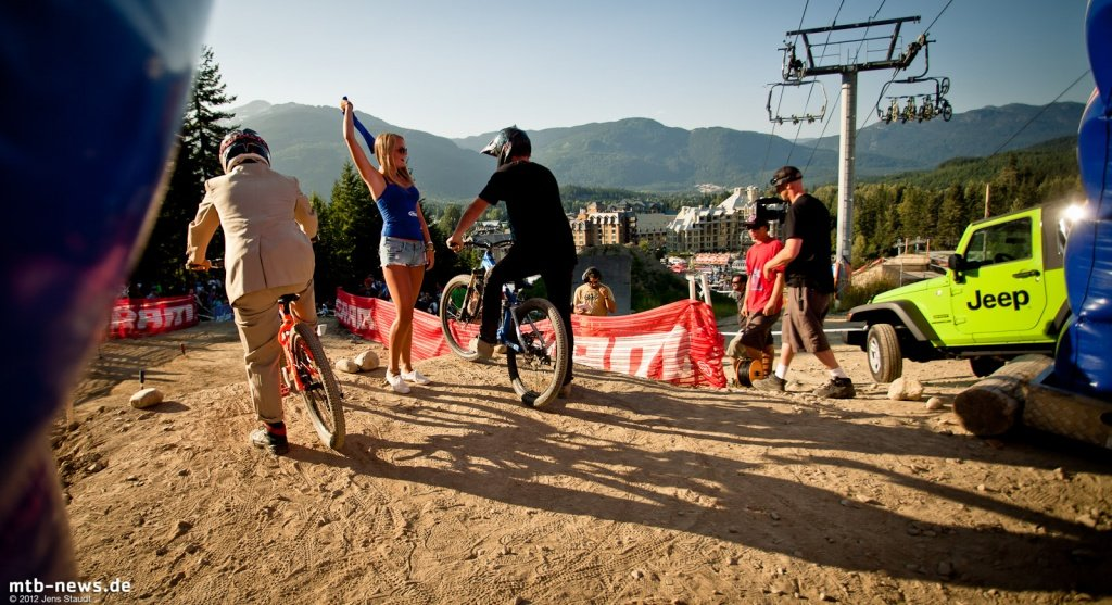 Whistler Crankworx Speed and Style - Starthut