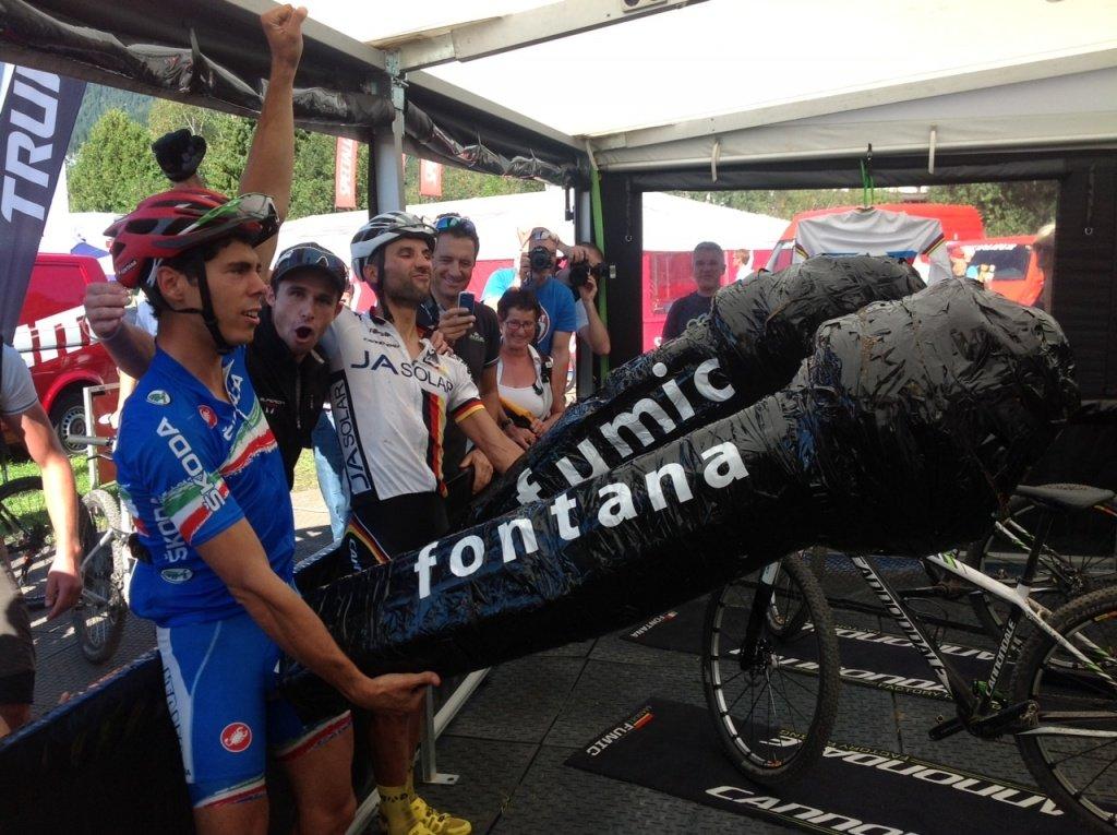Fontana und Fumic - Den Kampf zwischen Platz 6 und 7 entschied zuletzt nur eine Penislänge.