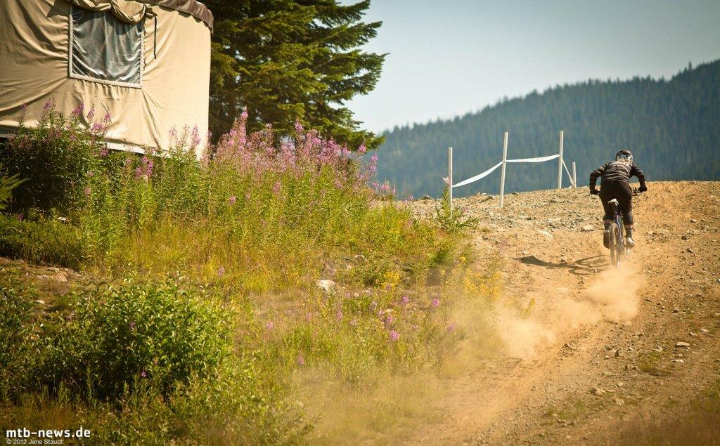 Whistler Crankworx Enduro - Women Uphill