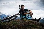 Wade Simmons freut sich über das Instinct - ein Trailbike für alle Bedingungen