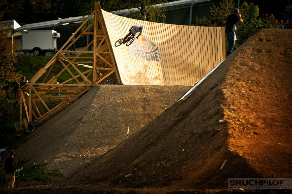 Red Bull Bergline wallride