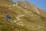 Viele Kilometer Trails in Graubünden - wie viele? Gefühlt endlos...