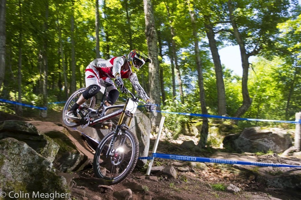 Greg Minnaar im Training