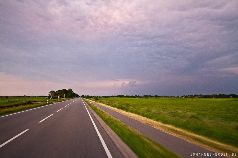Fahrt durch Ostfriesland