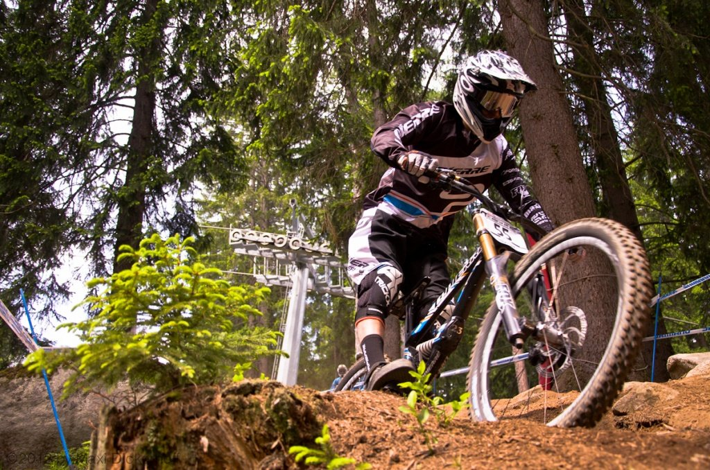 Val di Sole World Cup - DH Training