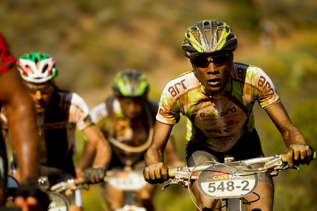 2. Etappe - Musawenkosi Manana beim Uphill