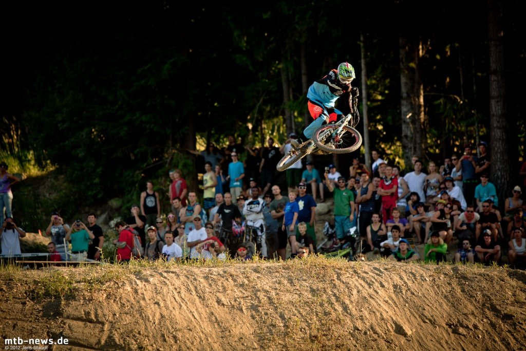Whistler Crankworx Speed and Style - Racing Outfit bei Fairclough