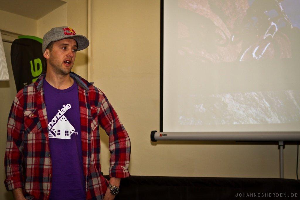 Aaron Chase beschreibt die Freeride-Maschine Claymore
