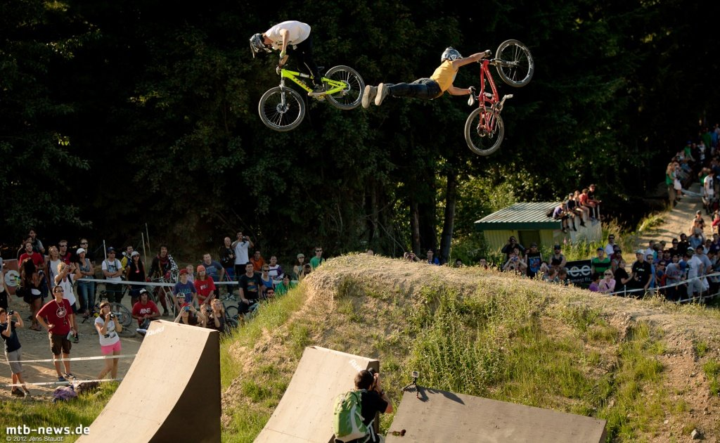 Whistler Crankworx Speed and Style -  360 + Supermann