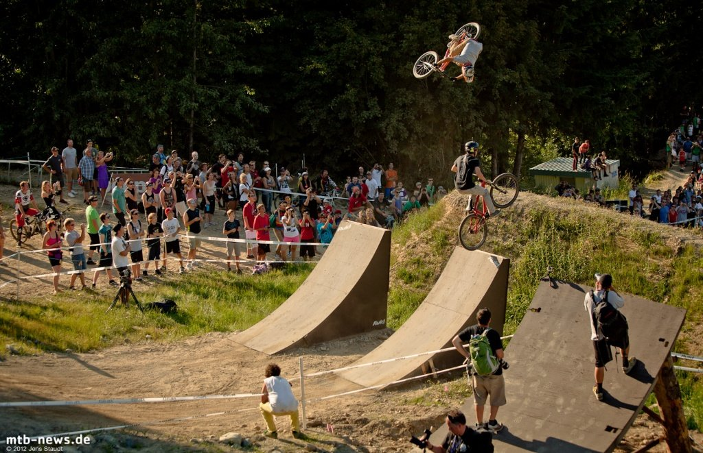 Whistler Crankworx Speed and Style - Flatspin