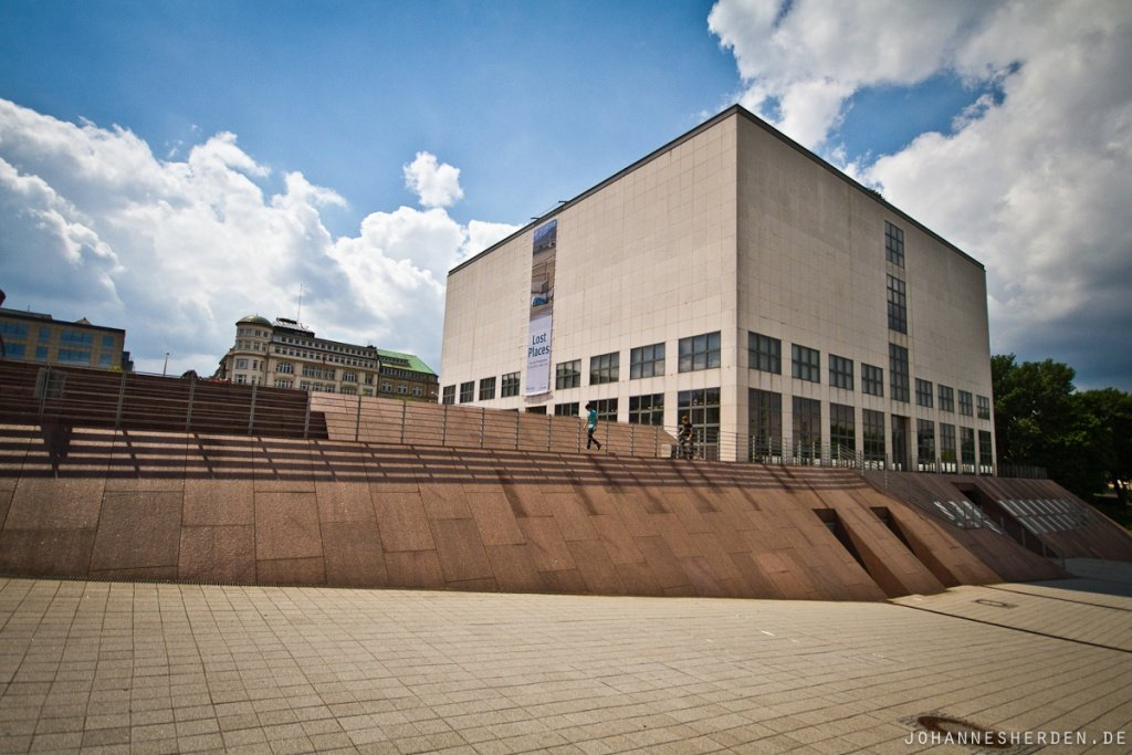 Kult-Stopp: Wallride an der Kunsthalle