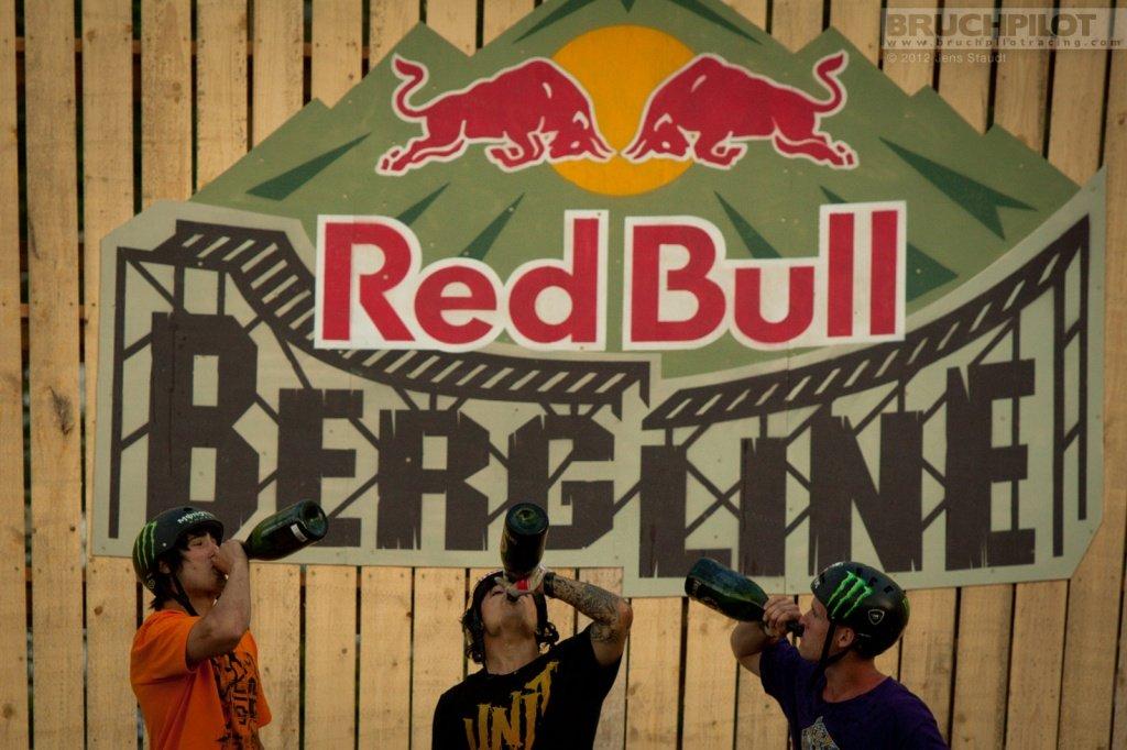 Red Bull Bergline - Podium