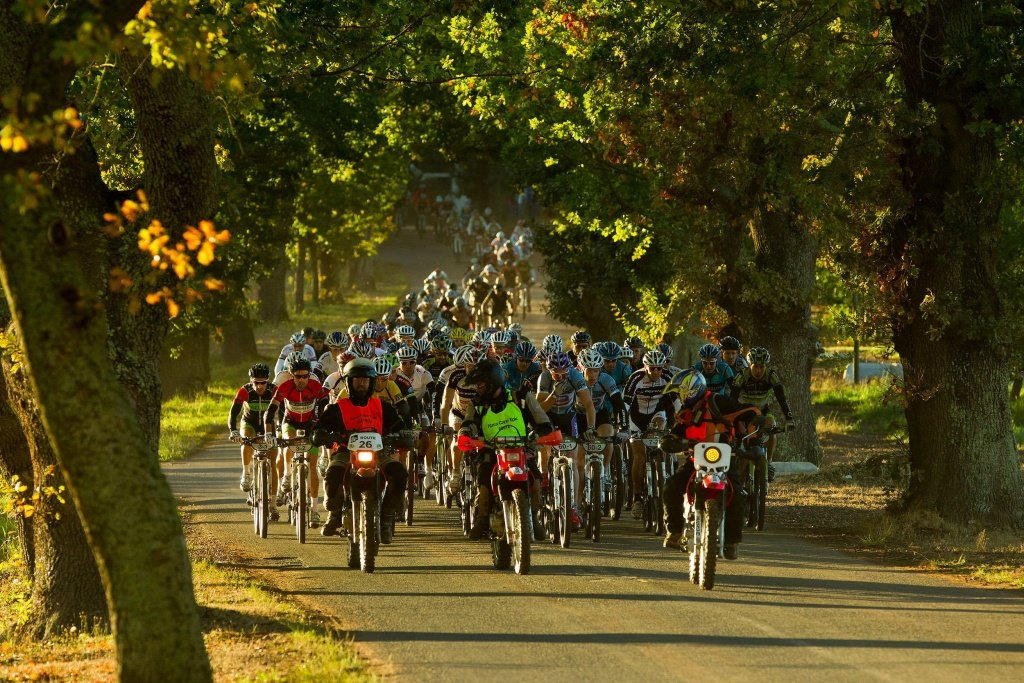 6. Etappe - Die Athleten verlassen Oak Valley