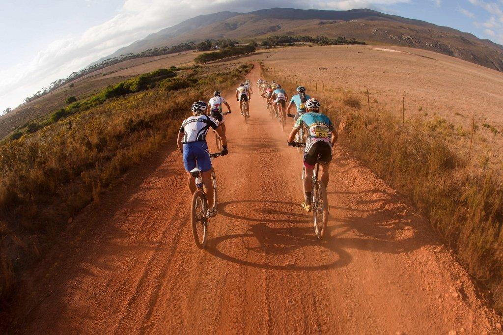 4. Etappe - Strecke machen: Durch den roten Sand Südafrikas