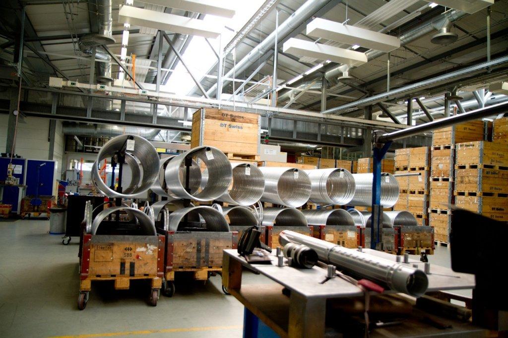 In einer der Produktionshallen bei DT-Swiss