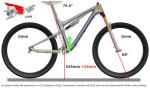Scott Genius 2013 - Geometrie im Lock Mode