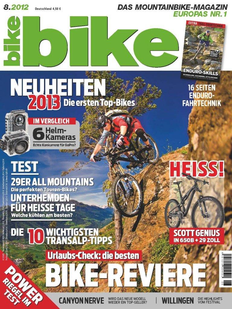 Bike 2012-08 Titel