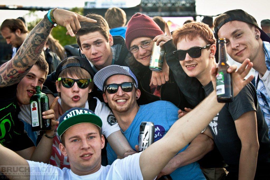 Red Bull Bergline - fans