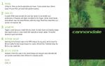 Cannondale Trigger 1 - Die Details zum Rahmen