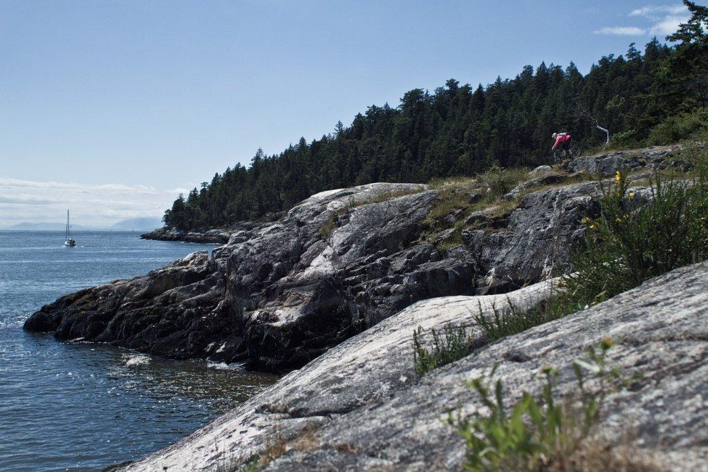 So schön ist die Küste Vancouvers: da geht man gern Trainieren - Pic by Derek Dix