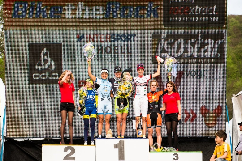 Elite Frauen Podium