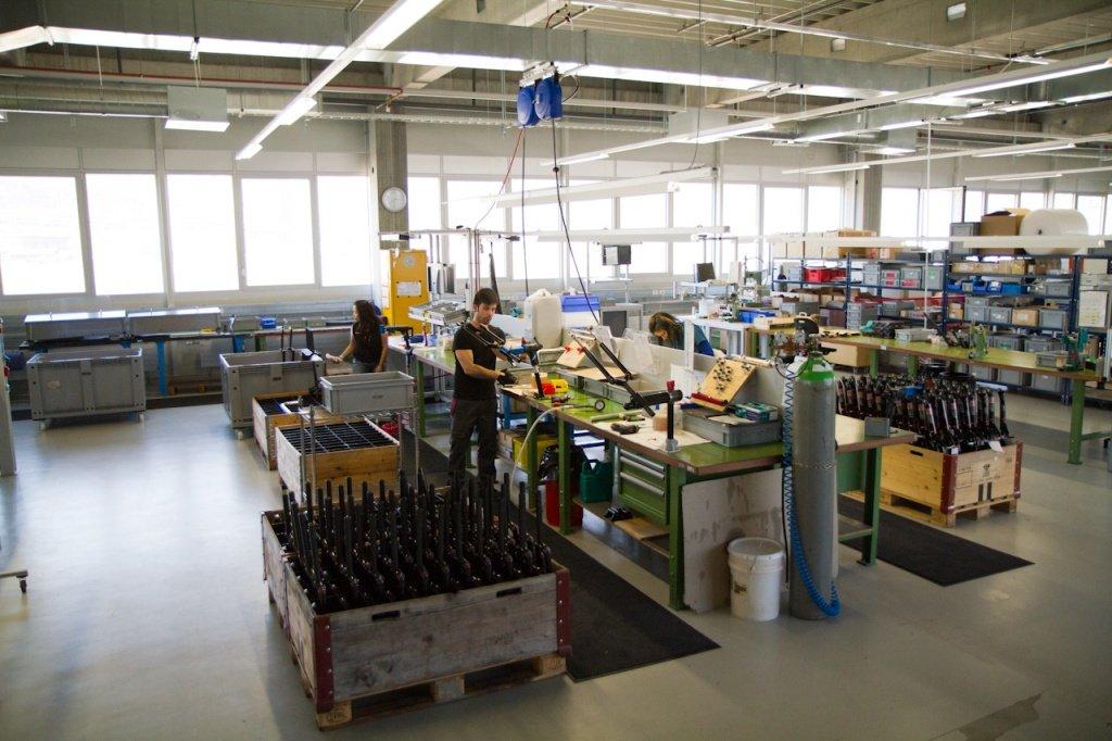 DT-Swiss Gabelproduktion