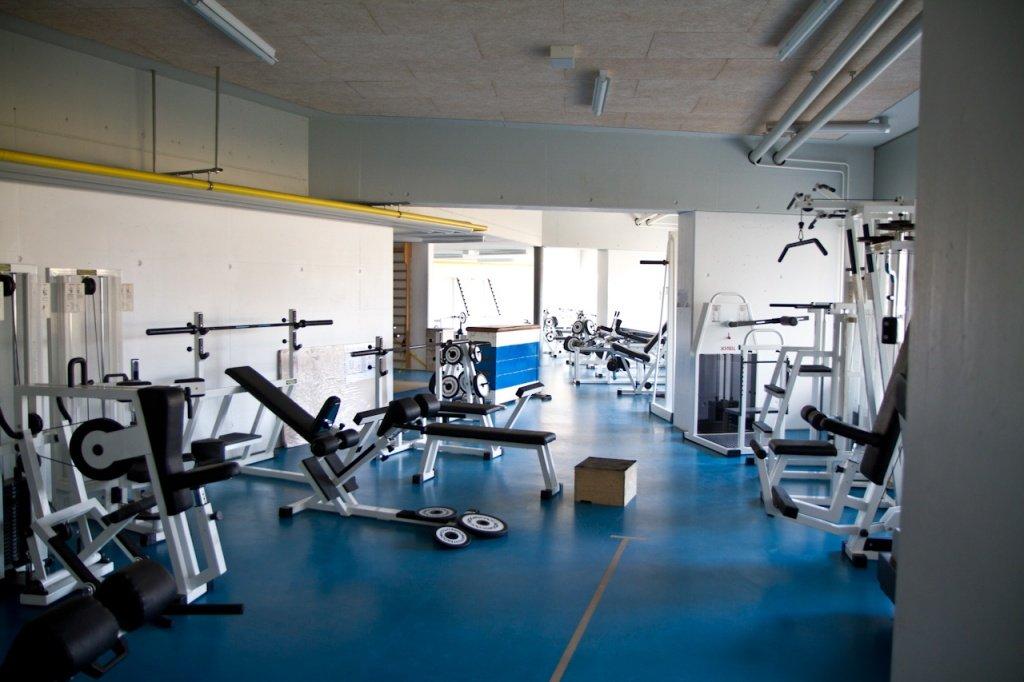 Fitnessbereich im WCC