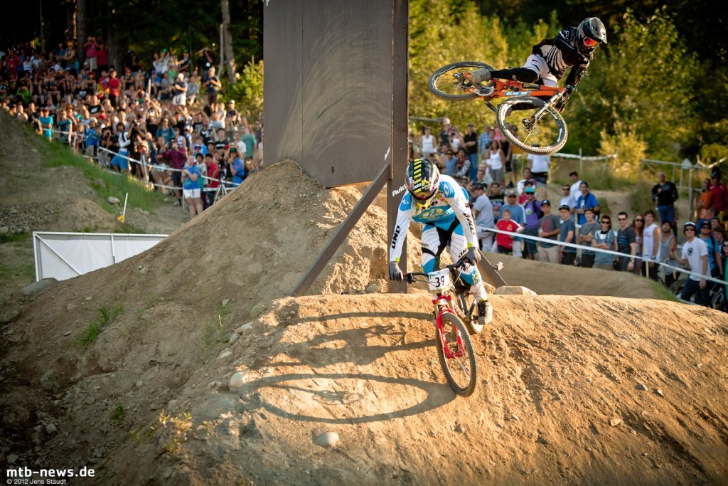 Whistler Crankworx Speed and Style - Wallride