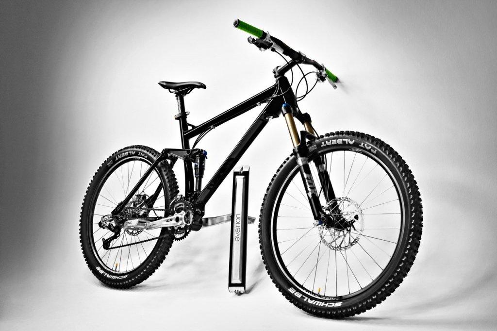 Mountainbike und Pedelec - je nachdem, wann man was braucht.