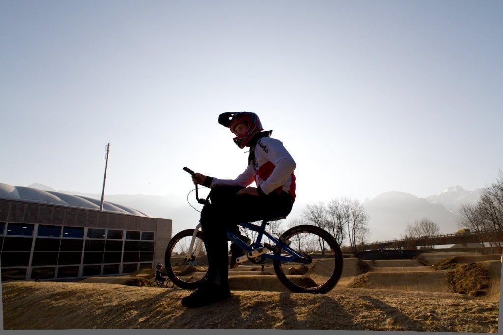 David Graf: BMX Training am WCC