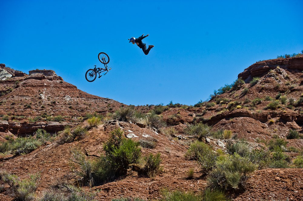Red Bull verleiht Flgel? Andreu in Utah - Foto: Blake Jorgenson/Red Bull Content Pool