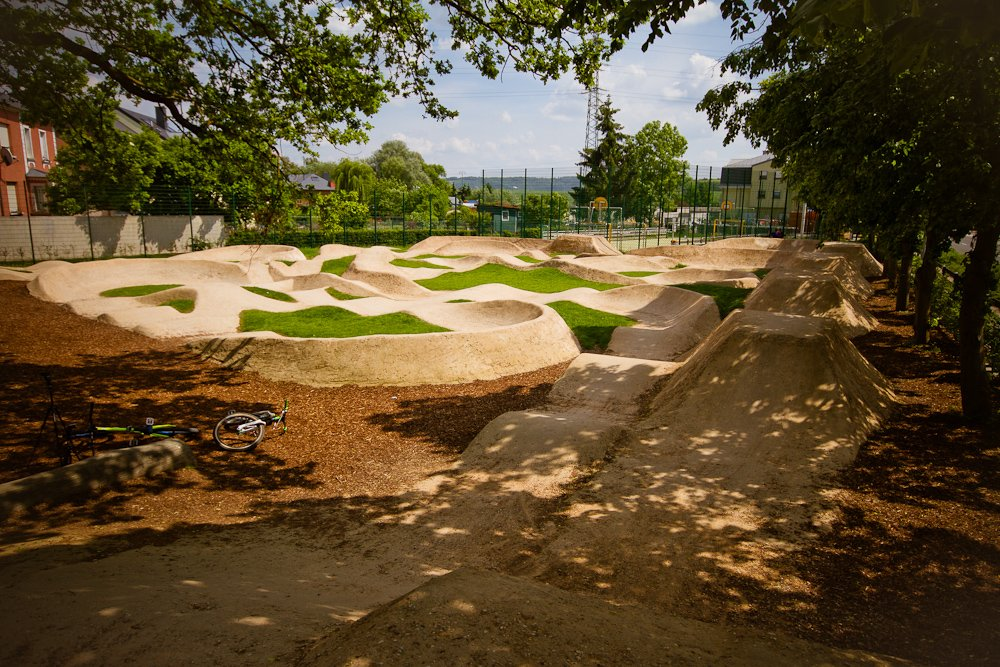 2 - Superschick: Der Pumptrack in Monnerich