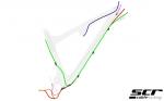 Scott Genius 2013 - überarbeitete Kabelführung
