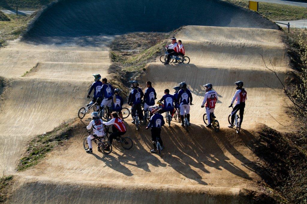 BMX Training am WCC