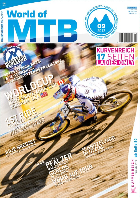 WOMB09 2012 Cover