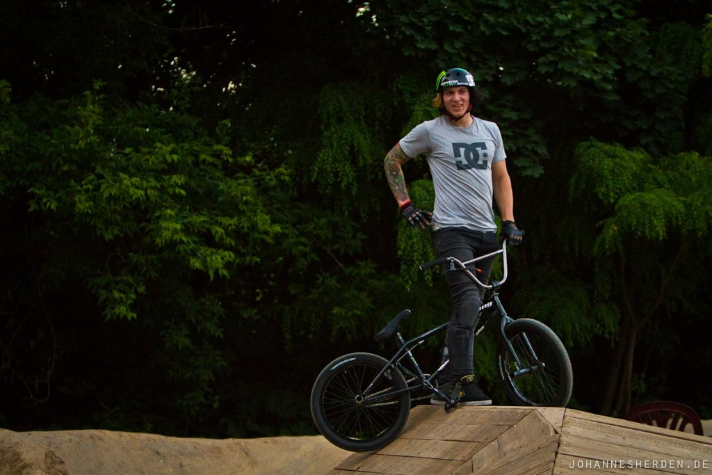 BMXer im Mellowpark