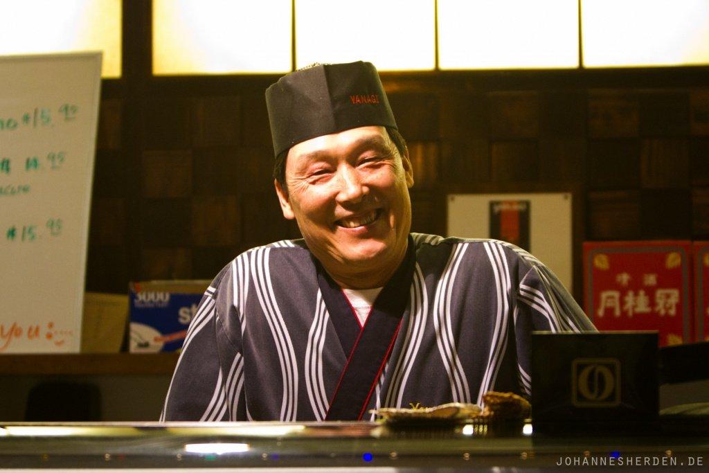 70 Letzter Abend in SLO: Sushi essen