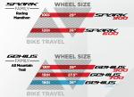 Scott Genius 2013 - Laufradgrößen und Federwege im Überblick