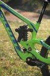 Scott Gambler 2013 - der Fox DHX RC2 Dämpfer kommt mit 267mm Einbaulänge