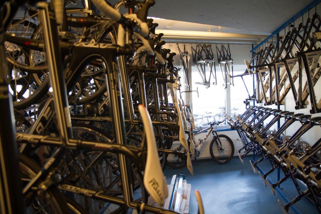 Räder für die Trainees im WCC
