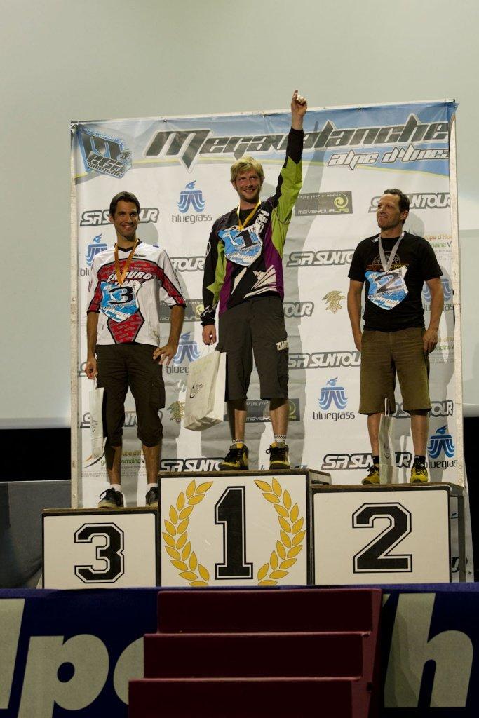 Frank Schneider - Megavalanche Masters 2012