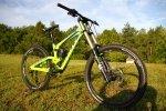 Scott Gambler 2013 - Der Radstand beträgt bis zu 1225mm