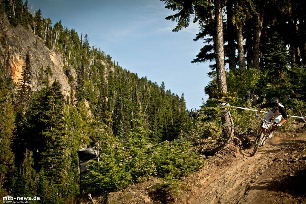 Whistler Crankworx Garbanzo Downhill by Jens Staudt - 9816