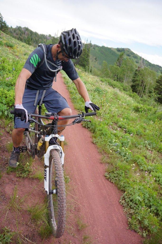 Buck auf dem Trail - kein Serien-Cockpit