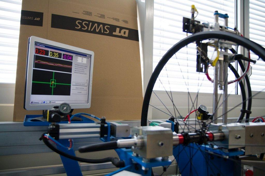 DT-Swiss Aufbau von Test-Laufrädern