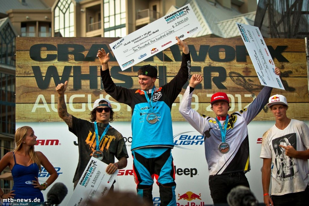 Speed and Style - Podium Fairclough Lacondeguy Strait