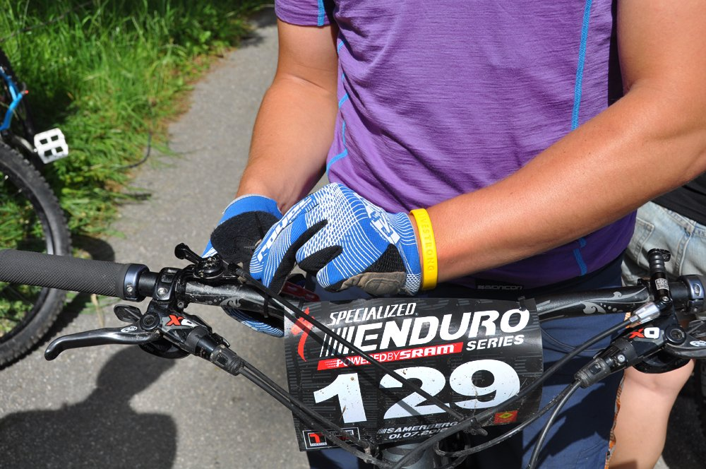 Startnummer - Specialized Enduro Series 2012